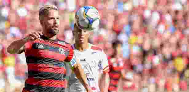 Diego, durante partida entre Flamengoe Bangu - Thiago Ribeiro/AGIF - Thiago Ribeiro/AGIF