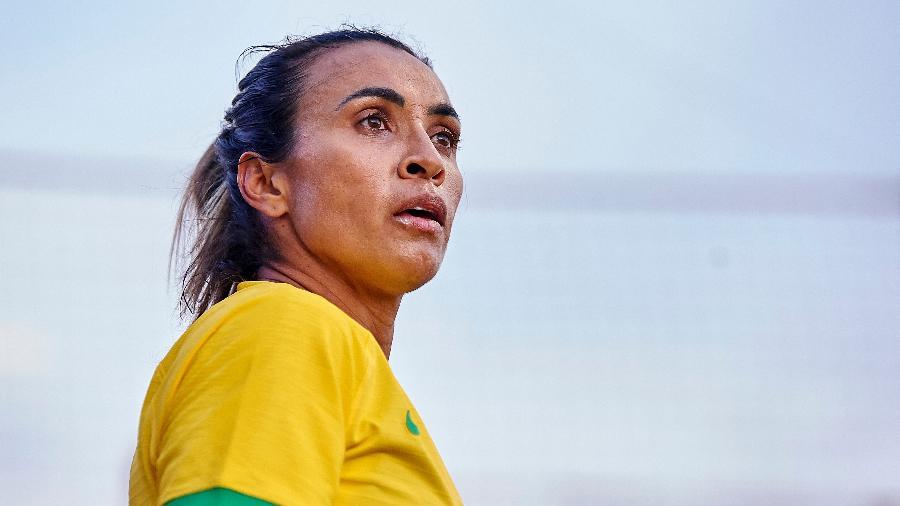 Marta, camisa 10 da seleção feminina - Jose Breton/NurPhoto via Getty Images