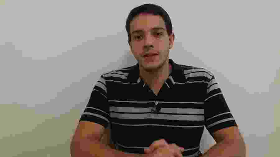 Comentarista Rafael Oliveira - Reprodução