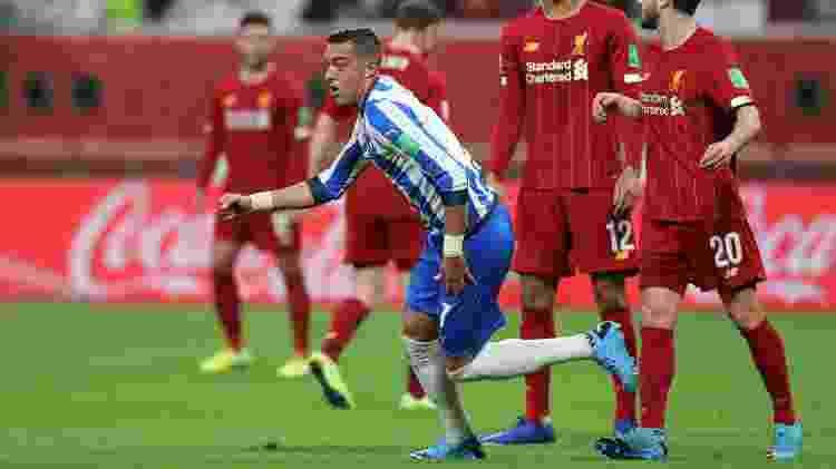 Funes Mori Monterrey x Liverpool - Karim Jaafar/AFP - Karim Jaafar/AFP