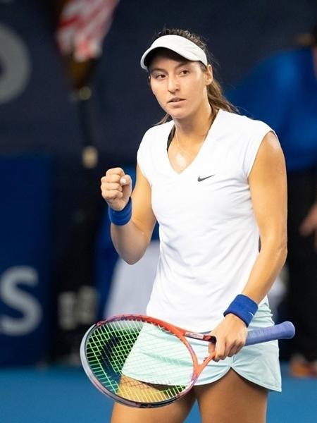 Luisa Stefani no WTA de Luxemburgo 2019 - Divulgação