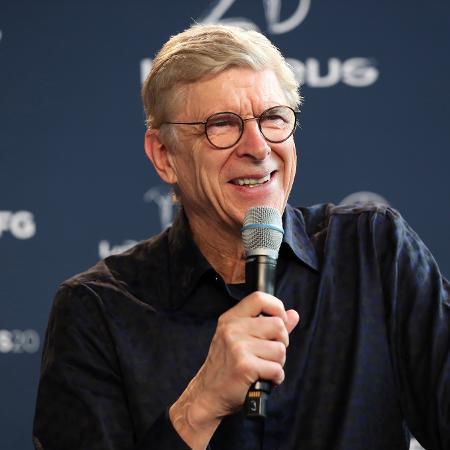 Arsène Wenger deixou claro o quanto é fã de Mbappé - Boris Streubel/Getty Images for Laureus