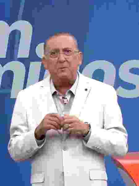 """Galvão Bueno apresenta o """"Bem, Amigos"""" - Reprodução/SporTV"""