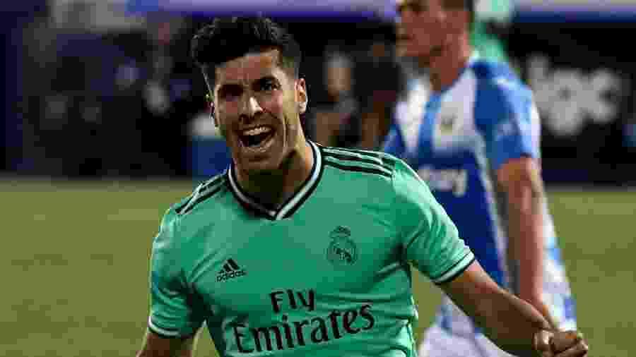 Asensio tem contrato com o Real Madrid até junho de 2023 - Pierre-Philippe Marcou/AFP