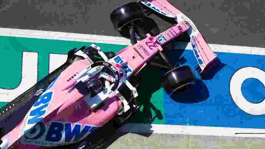 Nico Hulkenberg está substituindo Sergio Perez neste final de semana - Racing Point/Ferrari