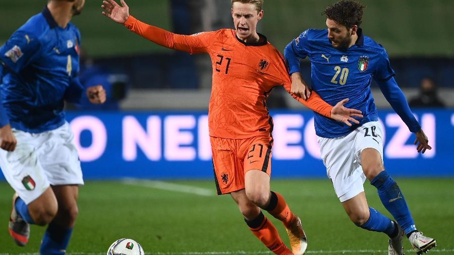 Itália e Holanda se enfrentam pela Liga das Nações - Marco Bertorello/AFP