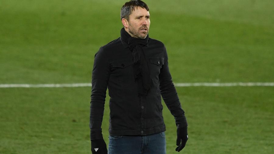 Coudet é treinador do Celta de Vigo e deixou o Internacional em meio ao Brasileirão - OSCAR DEL POZO/AFP