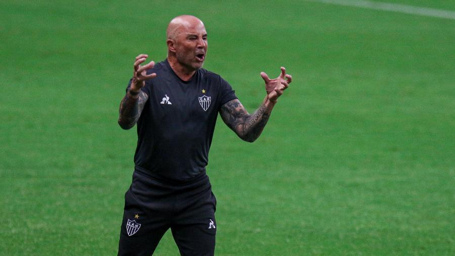 Sampaoli não garante permanência no Galo em 2021 por insatisfação com críticas feitas por torcedores organizados - Fernando Alves/AGIF