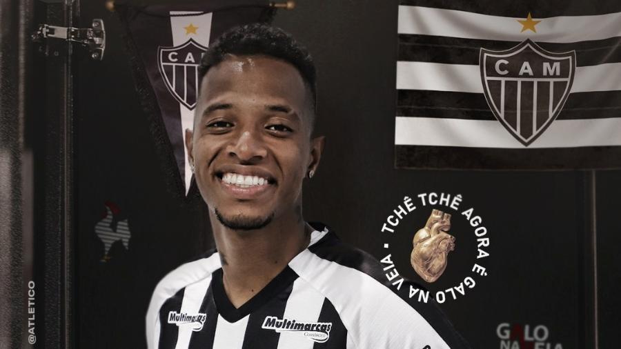Volante de confiança de Cuca, Tchê Tchê trabalhará no terceiro clube com o treinador - Divulgação/Atlético-MG
