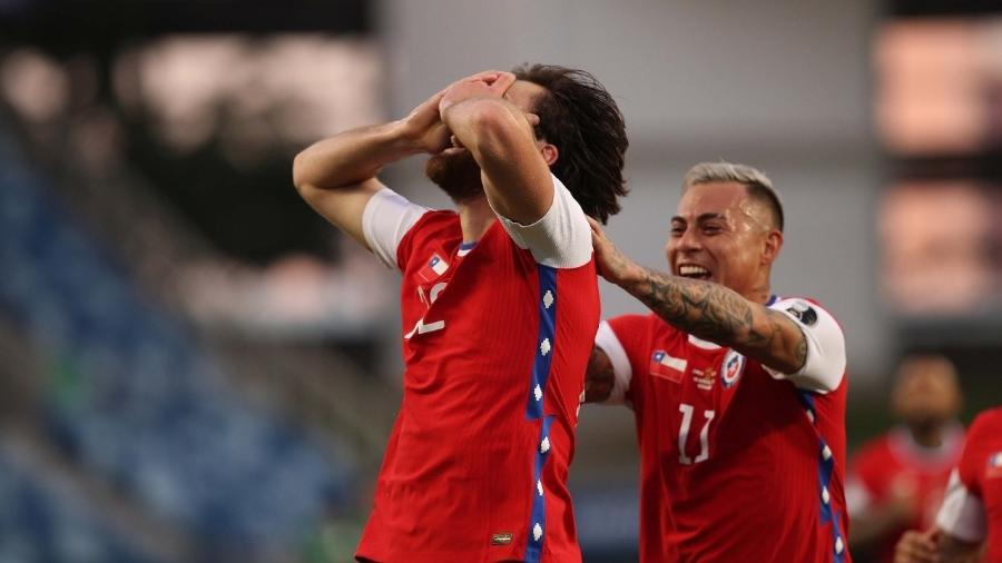 Seleção chilena está classificada para as quartas de final da Copa América - Divulgação / Federação Chilena de Futebol