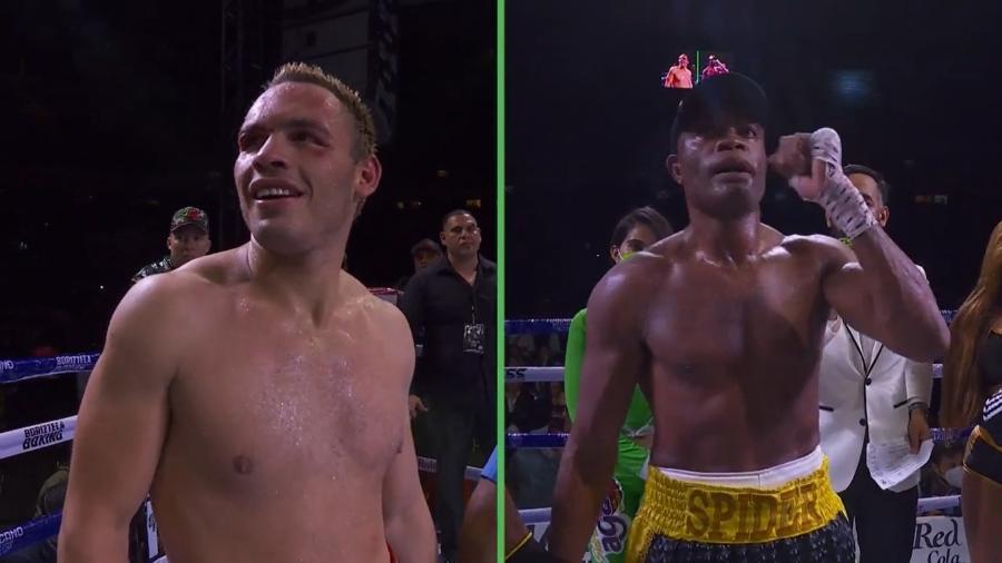 Anderson Silva comemora vitória em estreia no boxe - Reprodução