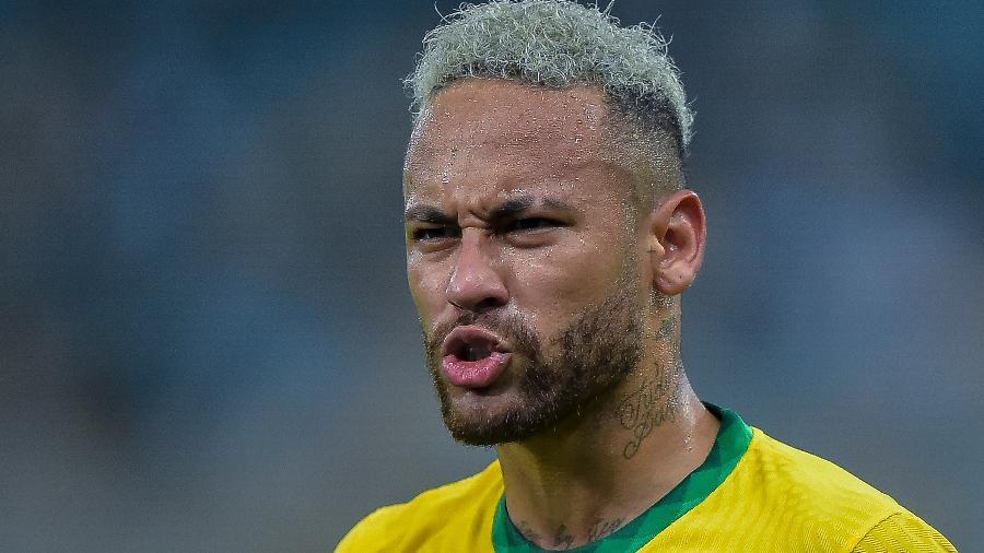 Neymar é o principal jogador da seleção brasileira - Thiago Ribeiro/Thiago Ribeiro/AGIF