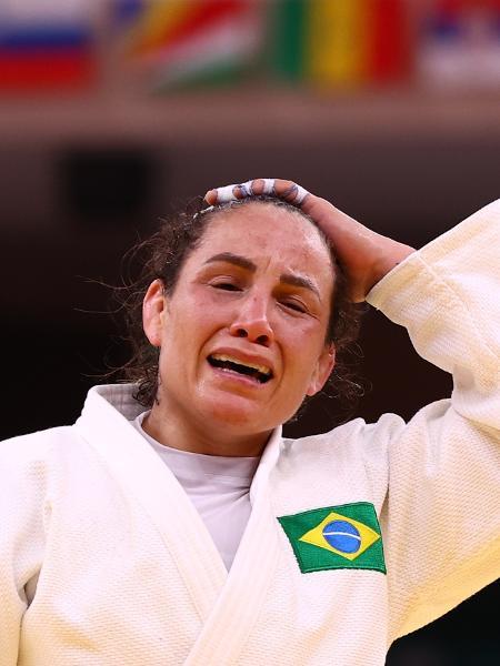 Maria Portela reage após derrota nas Olimpíadas de Tóquio - Sergio Perez/Reuters