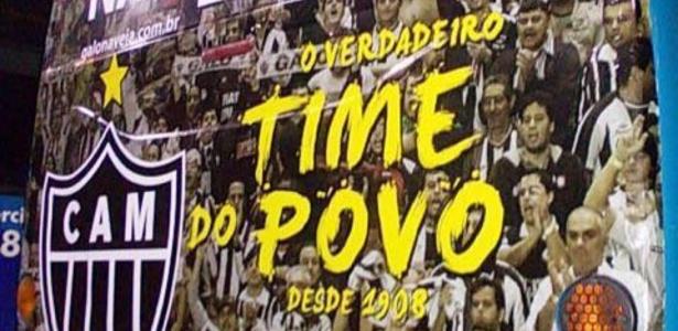 Atlético-MG volta a provocar Cruzeiro e estampa 80% da frota de ônibus de BH