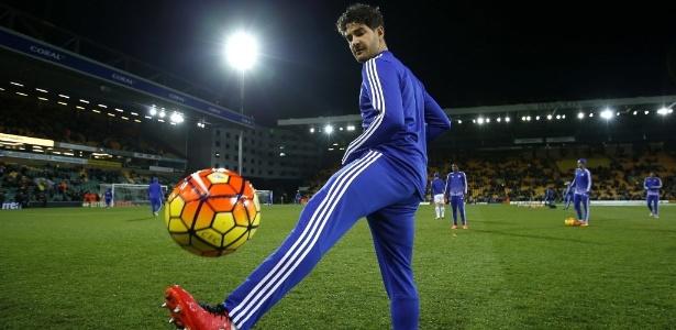Pato ainda não jogou pelo Chelsea - Reuters / Peter Cziborra Livepic