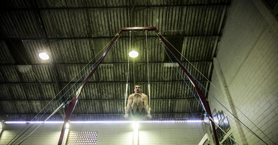 Especial Arthur Zanetti: exercícios nas argolas 10