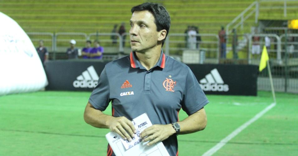 Zé Ricardo comemorou a segunda vitória seguida no comando do Flamengo