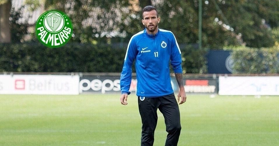 Montagem - Leandro Pereira (atacante) - Do Club Brugge (BEL) para o Palmeiras