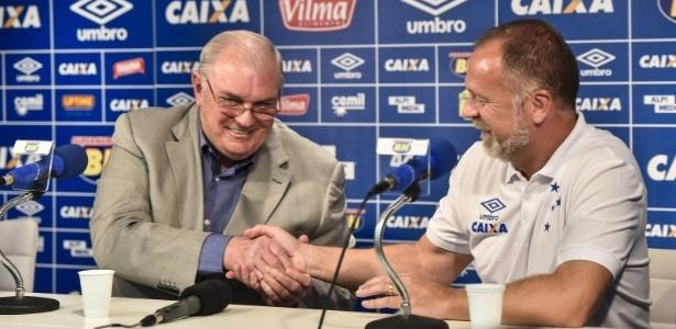 Nova era Mano Menezes no Cruzeiro começou sem desejos de retornar ao exterior
