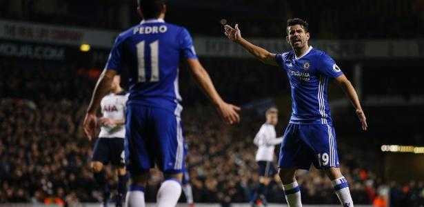 Courtois não crê em dependência de Diego Costa no Chelsea