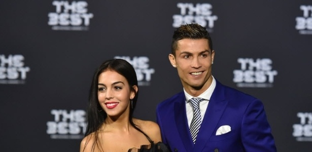Georgina aparece ao lado de Cristiano Ronaldo