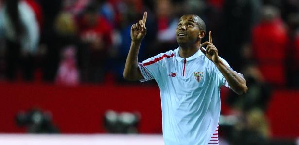 Mariano comemora gol marcado pelo Sevilla
