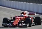 Será blefe mesmo? Ferrari faz dobradinha em último treino livre na Rússia - Alexander Nemenov - 28.abr.2017/ Reuters
