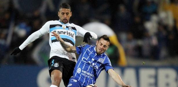 Michel chegou como mera opção de grupo e virou titular do meio-campo do Grêmio