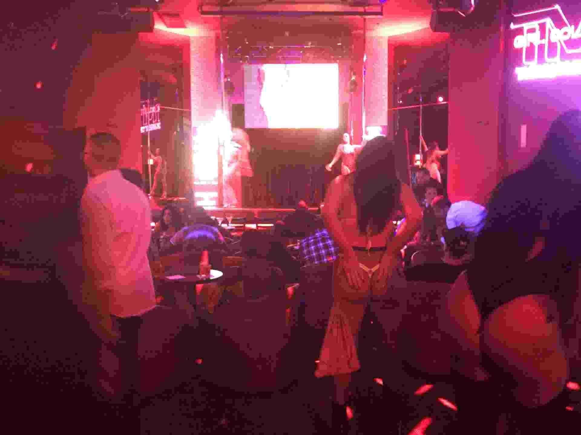 A casa de Strip-tease de Mayweather em Las Vegas - Jorge Corrêa/UOL