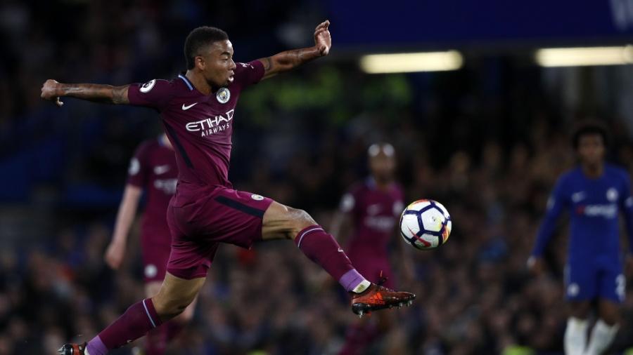 Gabriel Jesus fez seis gols em sete partidas no Inglês nesta temporada - Adrian Dennis/AFP Photo