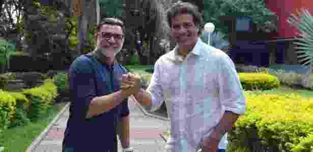 Ricardo Rocha e Raí são amigos há três décadas - Divulgação - Divulgação