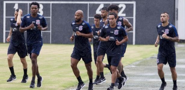 Corinthians se reapresentou nesta quarta-feira com 35 jogadores no elenco