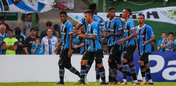 Time de transição do Grêmio somou apenas um ponto contra São Luiz, Caxias e Avenida