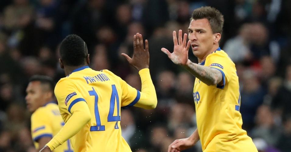 Decisão de vaga na Champions | Mandzukic abre o placar com 2 minutos para a Juve contra o Real; veja
