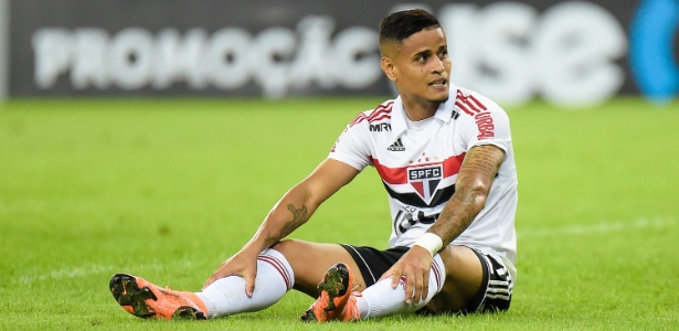 Everton reforça o São Paulo na partida desta quinta-feira - Thiago Ribeiro/AGIF