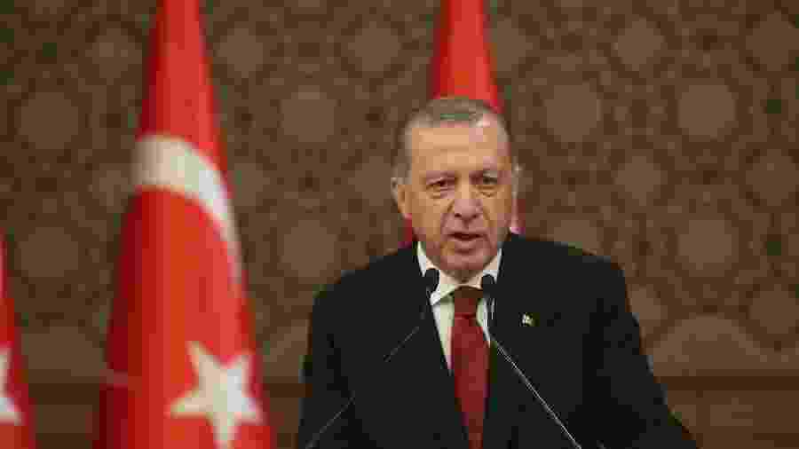 Recep Tayyip Erdogan, presidente da Turquia - Stringer/Getty Images