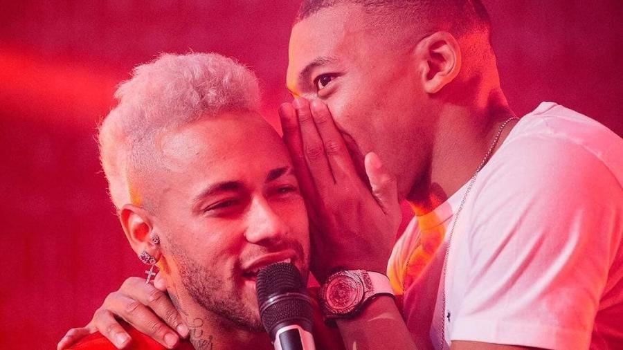 """Mbappé frequenta casa de Neymar e vira novo """"parça"""" na roda de amigos"""