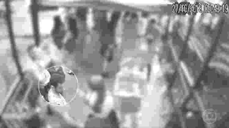 Imagens da boate Shed mostram Daniel - Reprodução/TV Globo - Reprodução/TV Globo