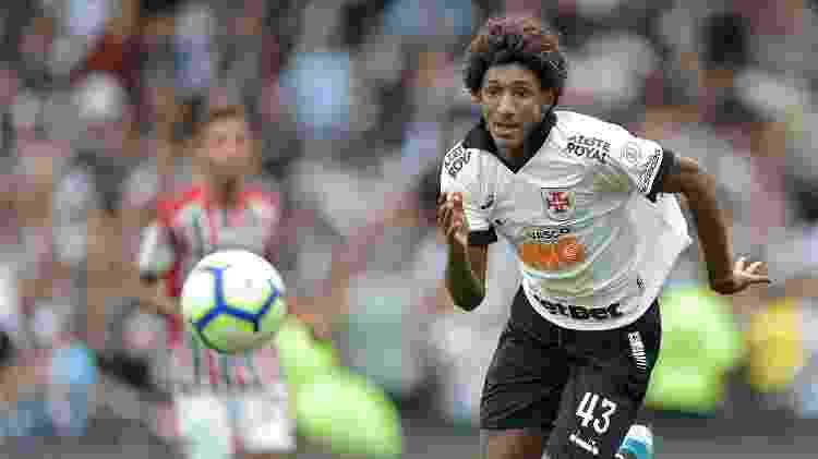 Talles Magno no Vasco - Thiago Ribeiro/AGIF - Thiago Ribeiro/AGIF