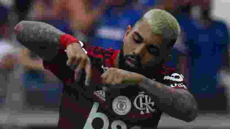 Gabigol deixou sua marca de novo - Fernando Moreno/AGIF