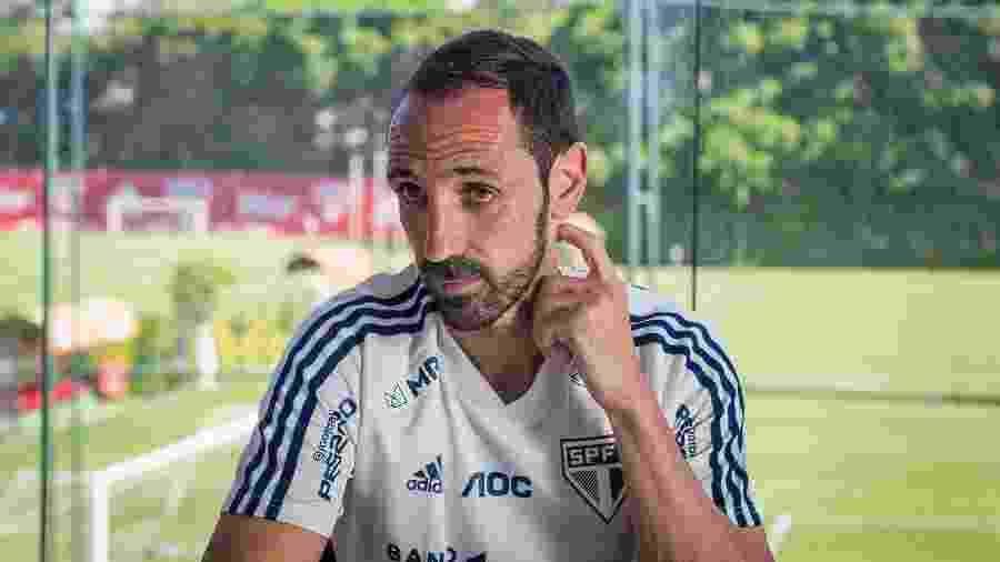 Espanhol já perdeu clássico por causa do desgaste muscular, agora sente novo incômodo - Ronny Santos/Folhapress
