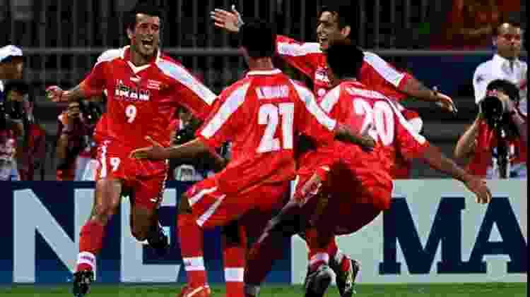 Estili comemora gol Irã - Patrick Kovarik/AFP - Patrick Kovarik/AFP
