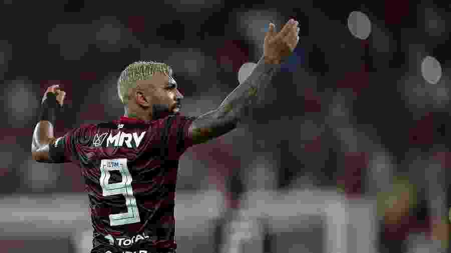 Gabigol, atacante do Flamengo - Thiago Ribeiro/AGIF