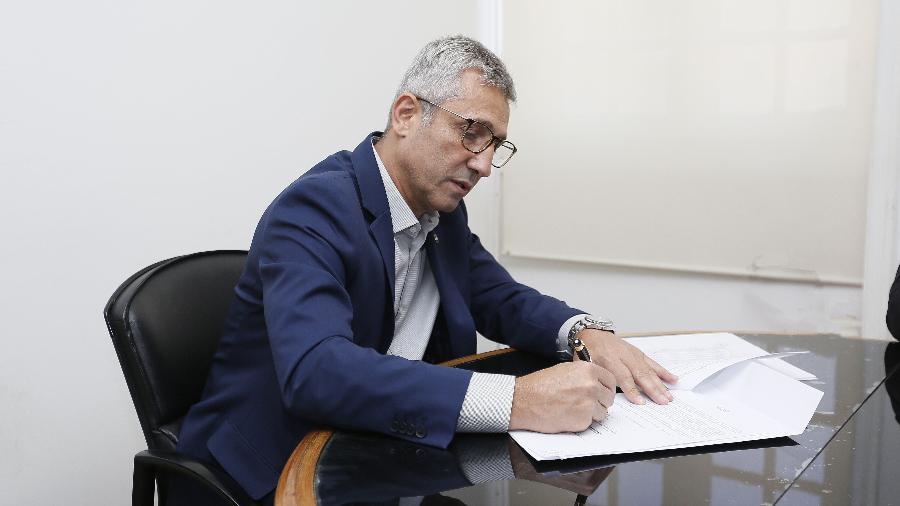 Presidente do Vasco, Alexandre Campello autorizou negociação entre o clube a IPlace - Rafael Ribeiro / Vasco