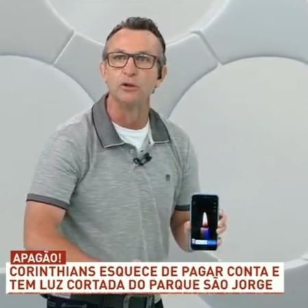 Neto detona Luan após classificação do Corinthians no Campeonato Paulista - Reprodução/Band