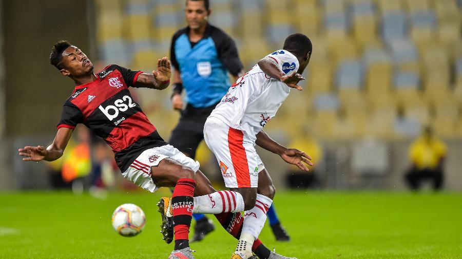 Flamengo venceu o Bangu por 3 a 0 na retomada do Campeonato Carioca durante a pandemia do coronavírus - Thiago Ribeiro/AGIF
