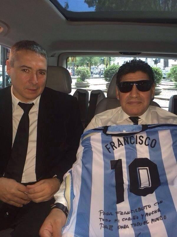 Victor Stinfale, advogado de Maradona