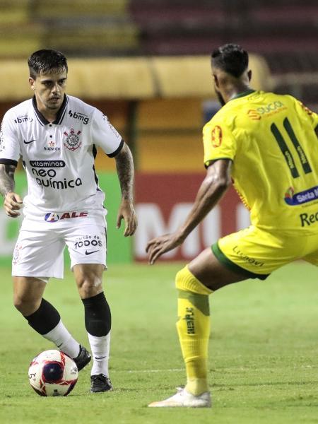 Fagner durante jogo entre Corinthians e Mirassol, em Volta Redonda, pelo Paulistão - Rodrigo Coca / Agência Corinthians