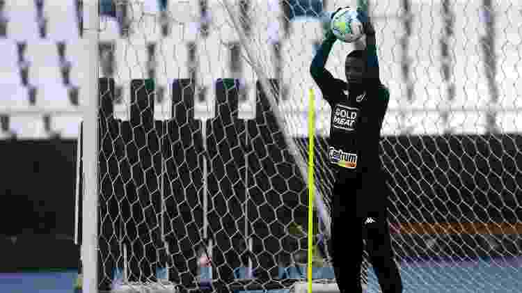 Goleiro Andrew, irmão de Andrey, durante treinamento do Botafogo - Vitor Silva/Botafogo - Vitor Silva/Botafogo