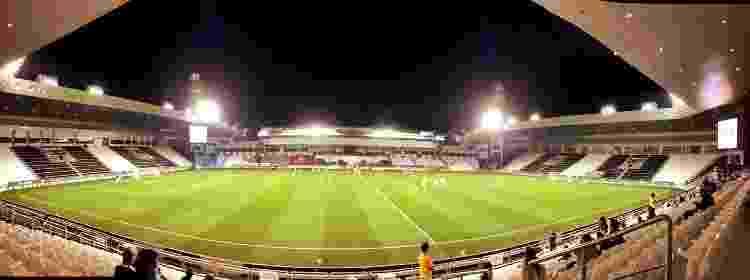 Estádio do Al Sadd praticamente vazio, em jogo contra o Al Ahli, em fevereiro de 2021  - Tiago Leme - Tiago Leme